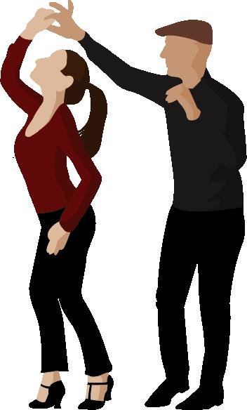 Couple de cours de danse salsa Cubaine