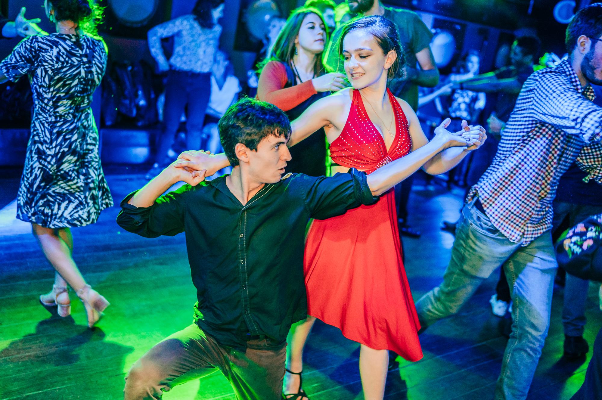 Comment danser à un concours