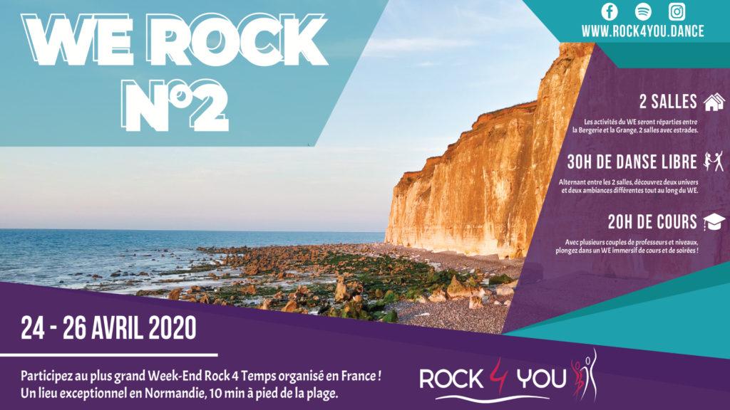 Présentation du Week-End Rock 4 Temps à Sotteville-sur-Mer