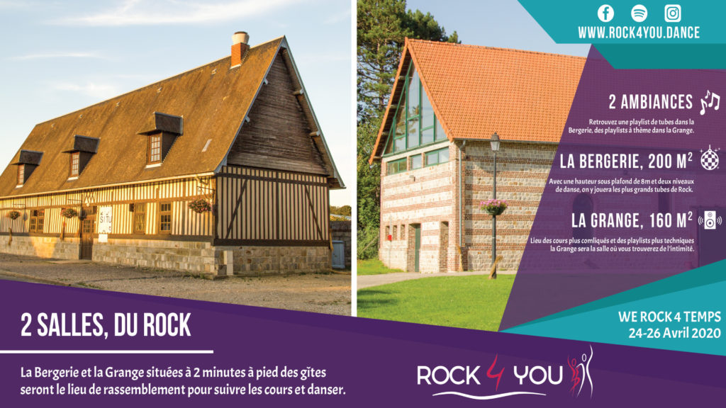 Présentation du Week End Rock 4 Temps en Normandie par Rock 4 You