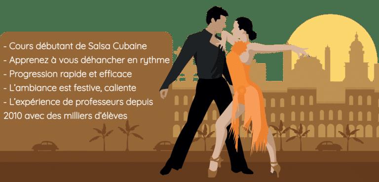 Cours de Salsa Cubaine pour débutants